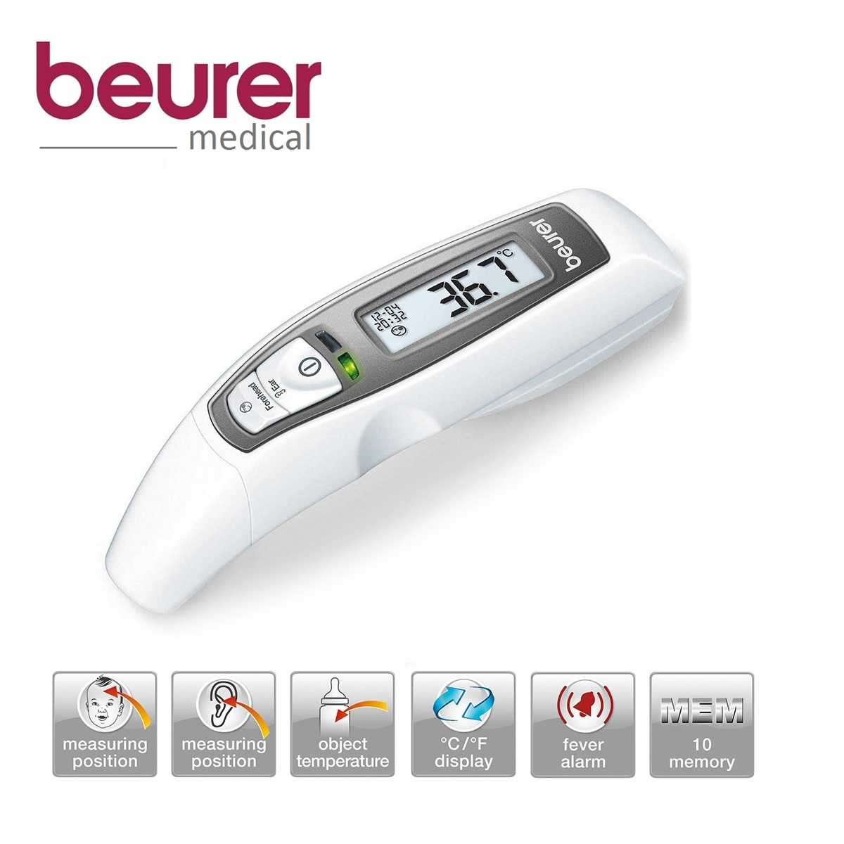 Beurer Multi Functional Thermometer FT65